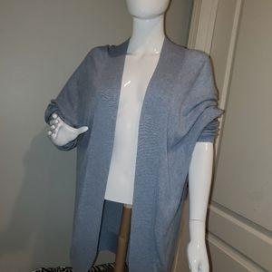 Croft & barrow crocheted cardigan sz XL